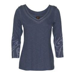 Women's Ojai Clothing Get-Away Vee Quick Silver