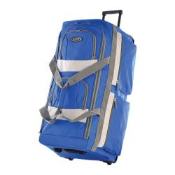 Olympia 33in 8 Pocket Rolling Duffel Royal Blue