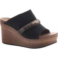 Women's OTBT Bicknell Sandal Black Fabric/Polyurethane