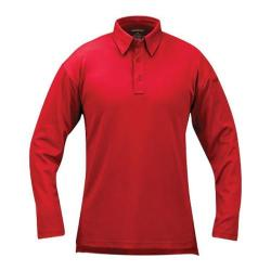 Propper ICE Performance Polo Long Sleeve Red