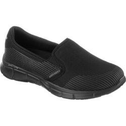 Women's Skechers Equalizer Space Out Walking Shoe Black