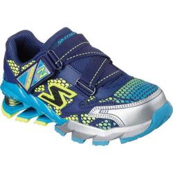 Boys' Skechers Mega Flex Mega Blade Axe Navy/Blue