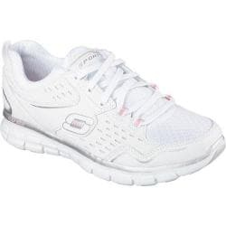 Women's Skechers Synergy Front Row White/Silver