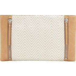 Women's Vince Camuto Baily Clutch Oak/Natural