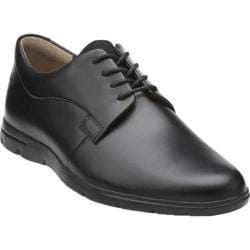 Men's Clarks Denner Motion Black Leather