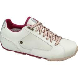 Women's Fila Run Volley Pearl/Magenta/Sand Leather/Nubuck