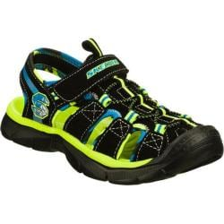 Boys' Skechers Relix Black/Green
