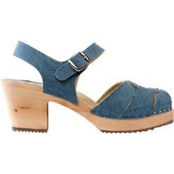 Women's Cape Clogs Jeans Light Blue