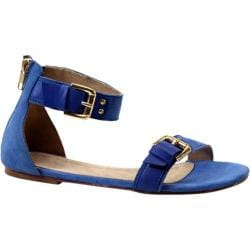 Women's Diba True Car Rah Blue Suede/Leather