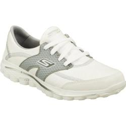 Women's Skechers GOwalk 2 Golf White/Gray