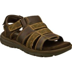 Men's Skechers Relaxed Fit Supreme Equipt Brown