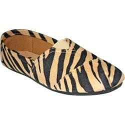 Women's Dawgs Exotic Kaymann Loafer Black/Tan Safari