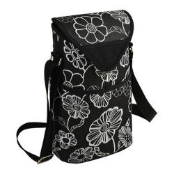 Picnic at Ascot Two Bottle Tote 13in Night Bloom