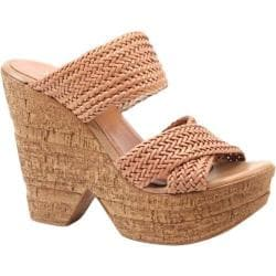 Women's Diba True Cross Link Nude Leather