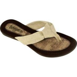 Women's Tidewater Sandals Lewes Natural Cream