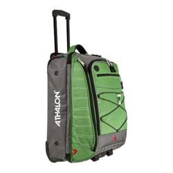 Athalon Grass Green Glider 21-inch Rolling Upright Duffel Bag
