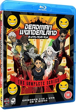 Deadman Wonderland: Complete Series (Blu-ray Disc) 12856565