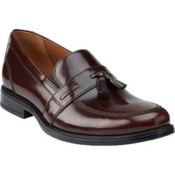 Men's Bostonian Kinnon Step Tassel Loafer Burgundy Leather