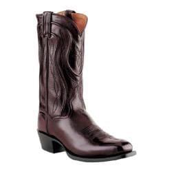 Men's Dan Post Boots Square Toe Mignon Black Cherry