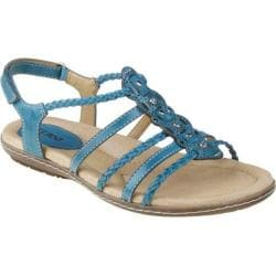Women's Earth Bluff Shadow Blue Full Grain Leather