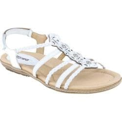 Women's Earth Bluff White Full Grain Leather