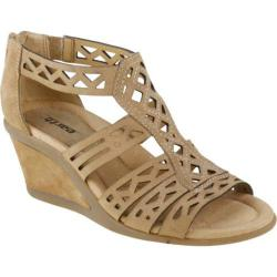 Women's Earth Petal Camel Suede
