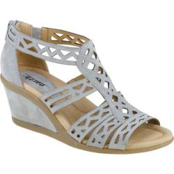 Women's Earth Petal Pale Grey Suede