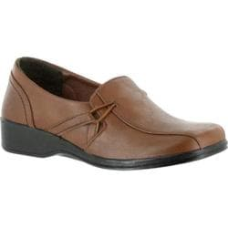 Women's Easy Street Lara Slip On Tan Polyurethane