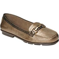 Women's A2 by Aerosoles Nu World Loafer Bronze Combo Faux Leather