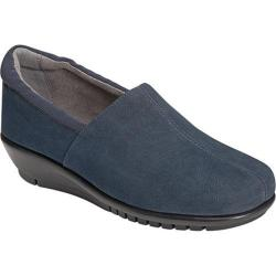 Women's Aerosoles Backbend Navy Faux Suede