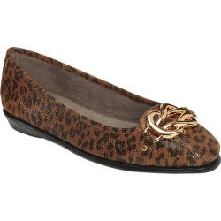 Women's Aerosoles High Bet Leopard Tan Leather