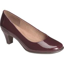 Women's Aerosoles Red Hot Wine Faux Patent
