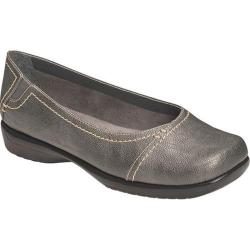 Women's Aerosoles Richmond Dark Silver Faux Leather