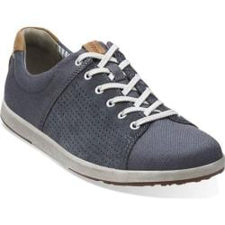 Men's Clarks Norwin Style Navy Canvas