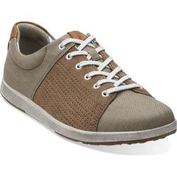 Men's Clarks Norwin Style Olive Canvas
