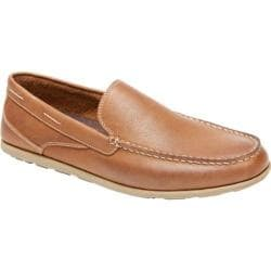 Men's Rockport Bennett Lane Cape Noble 3 Venetian Tan Smooth Leather