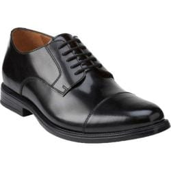 Men's Bostonian Kinnon Cap Toe Oxford Black Leather