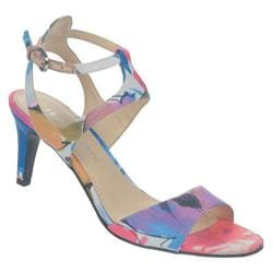 Women's Franco Sarto Evette Blue Bouquet Fabric