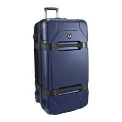 Traveler's Choice Maxporter 32in Rolling Cargo Trunk Luggage Navy