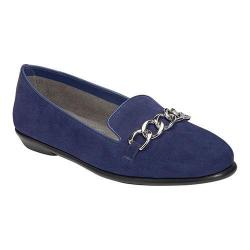 Women's Aerosoles Beta Ray Loafer Dark Blue Suede