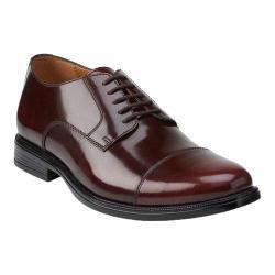 Men's Bostonian Kinnon Cap Toe Oxford Burgundy Leather