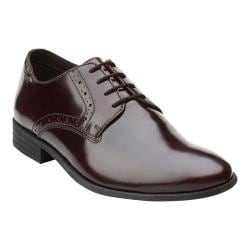 Men's Clarks Chart Walk Burgundy Brush Off Leather
