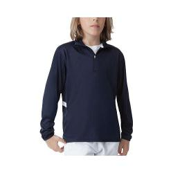 Boys' Fila Fundamental Half Zip Jacket Peacoat/White