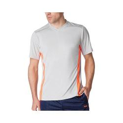 Men's Fila Sweet Spot V-Neck Highrise/Shocking Orange/Navy Power