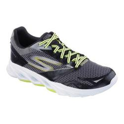 Men's Skechers GOrun Vortex Running Shoe Black/Lime