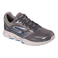 Men's Skechers GOrun Vortex Running Shoe Charcoal/Blue