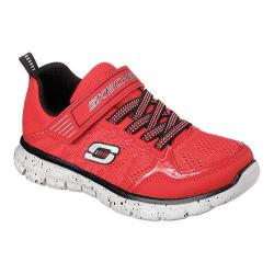Boys' Skechers Synergy Power Flex Training Shoe Red/Black