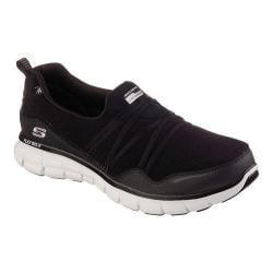 Women's Skechers Synergy Scene Stealer Walking Shoe Black/White
