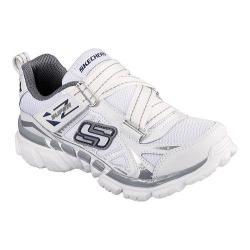Boys' Skechers Tough Trax Quads White/Gray/Navy