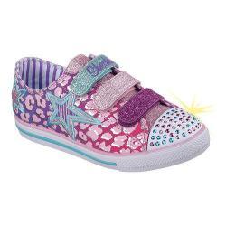 Girls' Skechers Twinkle Toes Chit Chat Prolifics Sneaker Pink/Multi